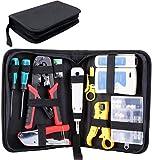 FIXKIT 13 en 1 Professional Testeur de Network Réseau, Kits d'outils de...