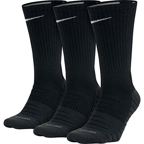 Nike Everyday Max Cushion Crew Training, Calzini Unisex Adulto, Black/Anthracite/(White), L