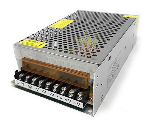 Vetrinerete Fuente de alimentación estabilizada 24 voltios 10 amperios transformador interruptor de 240 vatios para iluminación led y videovigilancia 24v A110