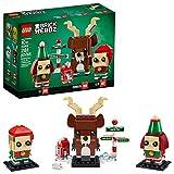 LEGO Brickheadz Reindeer, Elf and Elfie 40353 Building Toy, New 2020 (281 Pieces) (Toy)