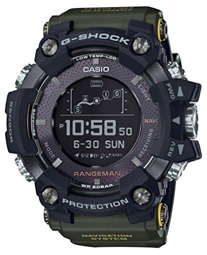 Casio G-Shock RANGEMAN GPS-Navigationssystem GPR-B1000-1BJR für Herren, hergestellt in Japan (Japan Import)