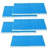 Two Layers Blue Air Purifier Filter, Filter Replacement, Non-Woven Fabric Reusable for DAIKIN MC70KMV2 MCK57LMV2 Filter Allergen Air Elements