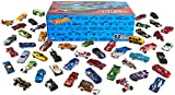 Hot Wheels 50-Car Pack of 1:64 Scale Vehicles Individually Packaged​, Gift for Collectors & Kids...