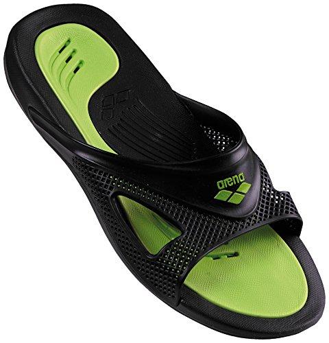 Arena Hydrofit Man Hook Zapatos de Playa y Piscina, Hombre, Negro Black 056, 42 EU