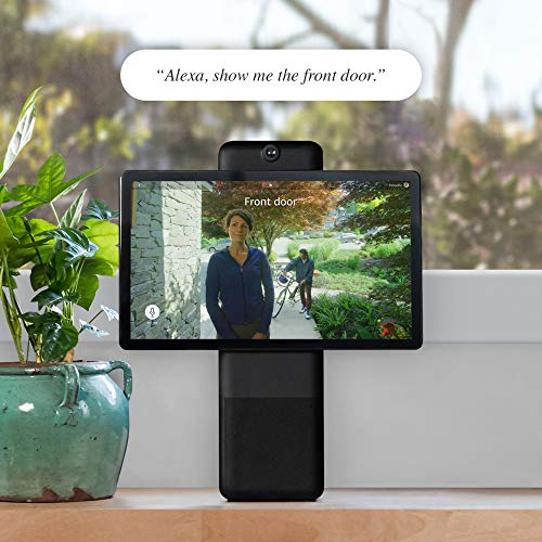 """Facebook Portal Plus - Smart Video Calling 15.6"""" Touch Screen Display with Alexa - Black"""