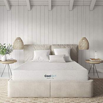 Classic Brands Cool Gel Memory Foam 8-Inch Mattress   CertiPUR-US Certified   Bed-in-a-Box, Full