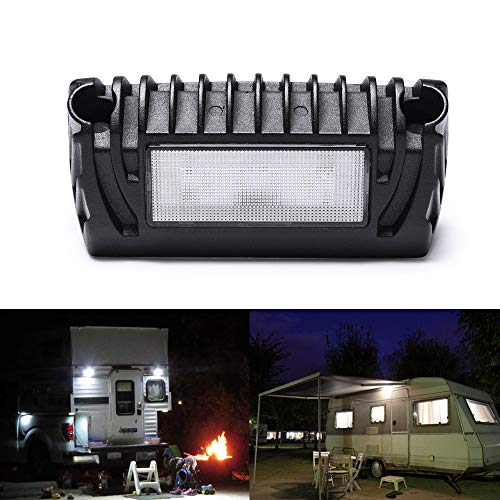 MICTUNING RV Exterior LED Porch Utility Light - 12V 750 Lumen...