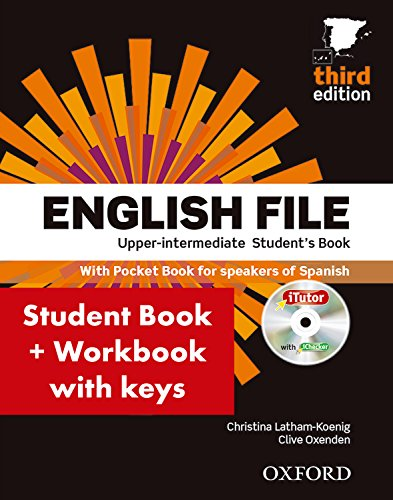 English File 3rd Edition Upper-IntermediateStudent's Book + Workbook with Key Pack, CEFR: B2 (Englis