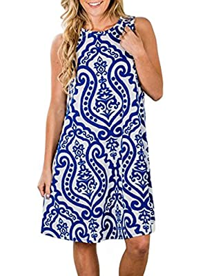 S=US 4-6,M=US 8-10,L=US 12-14,XL=US 16,XXL=US 18 This bold printed dress is so cute and even more comfy! You are going to love it's soft, stretchy fabric and it's bright fun colors! Plus, no need for this dress to have a lining since it's not sheer a...