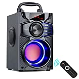 Bluetooth Speakers, Wireless Speaker with Impressive Sound, Booming Bass, Wireless Stereo Pairing,...
