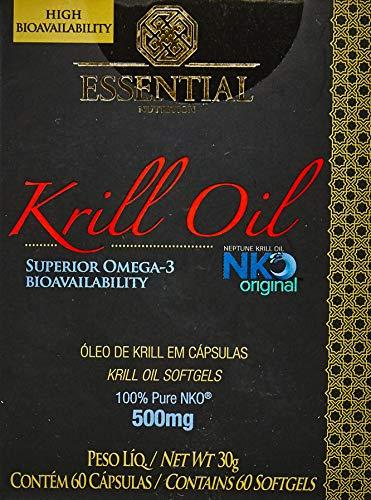Óleo de Krill - 60 Cápsulas 500 mg, Essential Nutrition