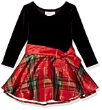 Bonnie Jean Girls' Toddler Hipster Dresses, red/Green Plaid, 2T