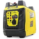 Groupe électrogène à onduleur portable à essence YF2000i, alimentation propre 2300 watts/1900...