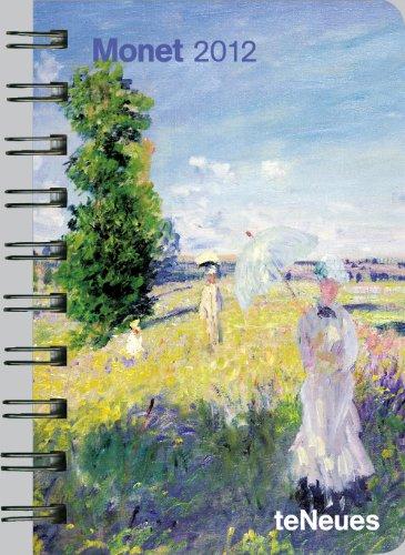 2012 Monet Pocket Deluxe Diary
