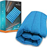 All-Natural Large Heating Portable Pad - 13'x22', Microwavable - Clay Beads, Cordless- for Stiff Joint, Sore Muscle Pain Relief-Moist Hot + Cold Therapy for Neck, Back, Leg, Arm, Joint Pain