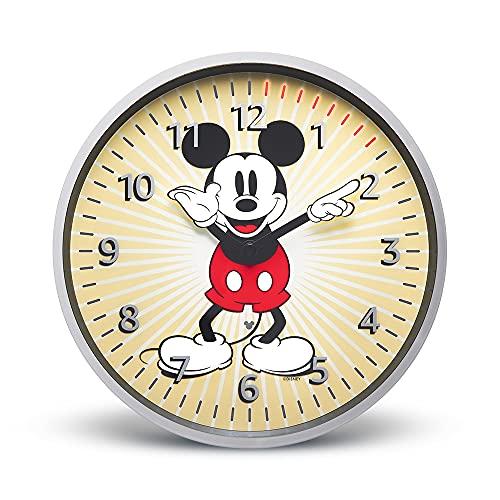 Echo Wall Clock – Disney-Micky-Maus-Sonderedition – behalten Sie Ihre Timer im Blick – erfordert ein kompatibles Echo-Gerät