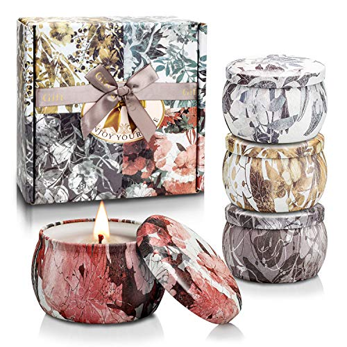 Scented Candles Gifts Set for Women Aromatherapy Candles for...