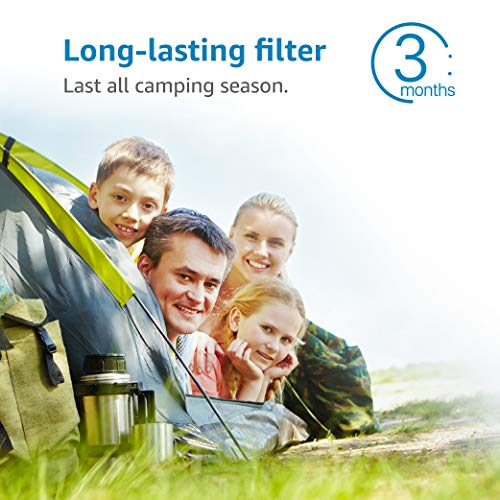 Product Image 9: AQUACREST RV Inline Water Filter, NSF Certified, Reduces Chlorine, Bad Taste, Odor for RV and Marines, Drinking & Washing Filter, Pack of 4
