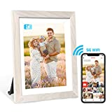 Frameo 2K 10 Inch Digital Picture Frame with WiFi App Contol, High Resolution IPS Touch Screen Photo...