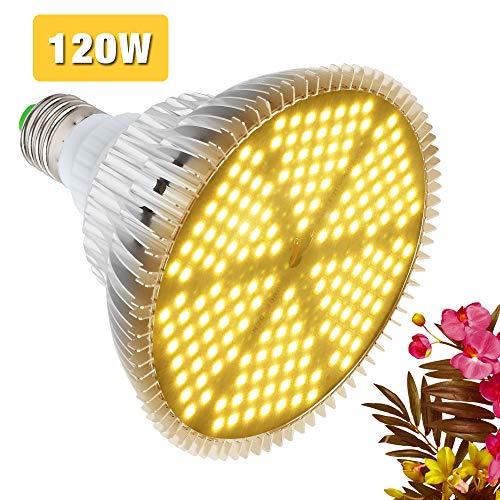 Pflanzenlampe Grow Light 120W LED Wachstumslampe E27 Vollspektrum 150 LEDs Pflanzenleuchte für Garten Gewächshaus Zimmerpflanzen, Blumen und Gemüse