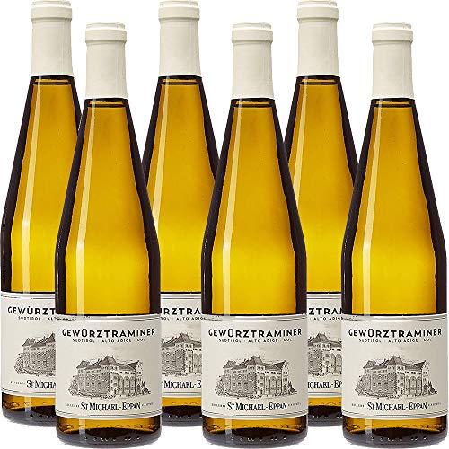 Gewrztraminer Doc   San Michele Appiano   St Michael Eppan   Vino Bianco Sudtirol Alto Adige   6 Bottiglie 75 Cl   Idea Regalo