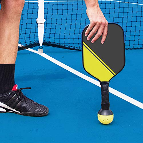 PickleUpper Pickleball Ball Retriever - Attaches to Pickleball Paddles - The Easy Way to Pick Up Pickleball Balls Without Bending Over - Fits Any Pickleball Paddle