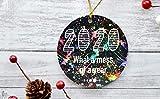 """""""N/A"""" 2020 Ornament 2020 Weihnachten Ornament Funny 2020 Andenken Ornament 2020 Weihnachten Maske trägt Santa Covid2020 Corona Ornament Keramik Weihnachtsbaum Dekoration"""