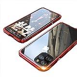 MQman iPhone11Pro ケース アルミバンパー+背面透明保護プレート LEGEND ネジ止め式 メタルフ……