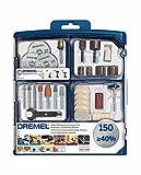 Dremel SC724 EZ SpeedClic Kit - Coffret de 150 Accessoires pour Outils...