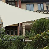 HAIKUS Voile d'ombrage Imperméable Triangulaire 4x4x4 4m, Toile Ombrage...