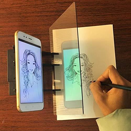Yissma Sketch Tavolo da Disegno Tavolo da Disegno Proiettore Tavolo da Disegno per Pittura -...