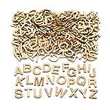 Baker Ross-Lot de 260Mini Lettres en Bois pour Décoration et...