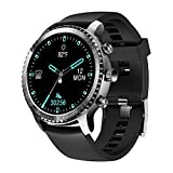 Tinwoo Smart Watch for Men, Support Wireless Charging, Bluetooth Fitness Tracker with Heart Rate...