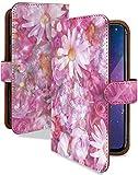 iPhone5c ケース 手帳型 携帯ケース コスモス ローズ バラ フラワー おしゃれ アイフォン アイ……
