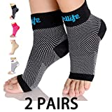 Dowellife Plantar Fasciitis Socks, Ankle Brace Compression Support Sleeves & Arch Support, Foot...