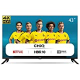 CHiQ U43H7L UHD 4K Smart TV, 43 Pouces(108cm), HDR10/hlg, WiFi, Bluetooth,...