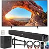 Sony KD43X85J 43 Inch X85J 4K Ultra HD LED Smart TV 2021 Model Bundle with Deco Gear Home Theater Soundbar with Subwoofer, Wall Mount Accessory Kit, 6FT 4K HDMI 2.0 Cables and More