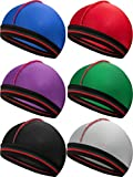 Silky Wave Caps Elastic Band for 360 540 and 720 Waves for Men Silk Material, 6 Pieces (Color 1)