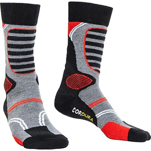 FLM Socken Funktionssocken kurz 1.0 schwarz 39-42, Unisex, Casual/Fashion, Ganzjährig, Textil