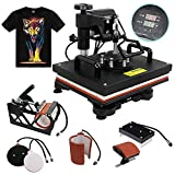 F2C 5 in 1 Professional Digital Transfer Sublimation Swing-Away...
