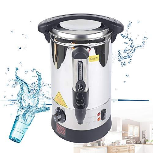 5L Glühweinkocher Edelstahl Heißgetränke-und Glühweinautomat Einstellbar Getränke-Erhitzer, Glühweinkocher mit Zapfhahn 1500W