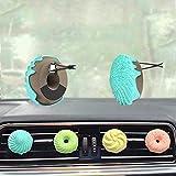 Profumo Diffusore Clip per Auto Clipp Auto Aroma Rhinestone, Nette Auto Decorazioni profumate Cravatte Forma