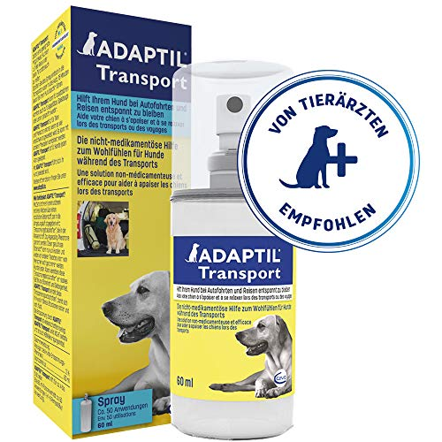 Adaptil Calm Transport Spray, Helps Dog cope with Travelling and Other...
