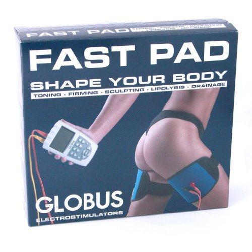 Globus G0489, Fasce Fast Pad Unisex Adulto, Nero, Unica