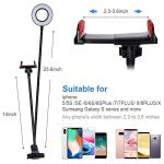 SHYLOC 8 Inches Big LED Ring Light for Camera,...