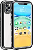 iPhone 11 Pro Waterproof Case, Shockproof Dropproof Dirt Rain Snow Proof iPhone 11 Pro Case with Screen Protector, Full Body Protection Heavy Duty Underwater Cover for iPhone 11 Pro /5.8'【2019】