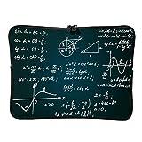 Regular Funny Math Formula Cuadrante Portátil Bolsas Retro Expansible - Love Math Tablet Maletín Adecuado para la Escuela White6 10 Zoll