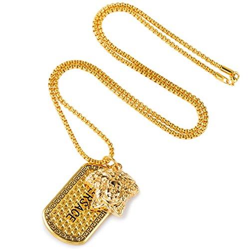 Collar de oro Faraón egipcio