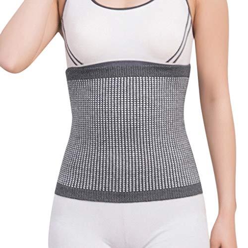 Fascia elastica termica per artrite, reumatismi, reni, lombare, addominali, per linverno e lautunno, morbida e calda, con fascia di supporto per la schiena, per uomini e donne.