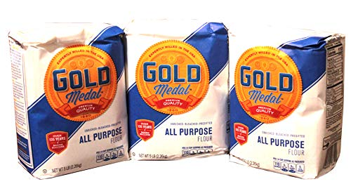 Gold Medal All Purpose Flour 5 lb (Pack of 3)